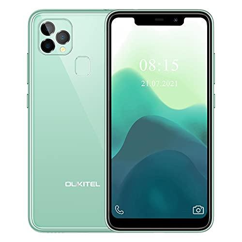 OUKITEL C22 Unlocked Cell Phone,128GB 4GB Android 10 Smartphone,Dual 4G Sim Unlocked Phone 4000mAh Battery,13MP Triple Cameras T-Mobile MetroPCS Straight Talk, 2021 New Mobile Phone,Green