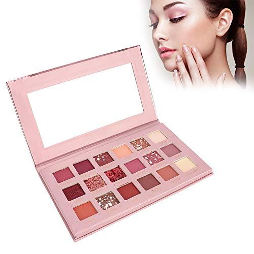 Eyeshadow Palette, Ombretti a Lunga Durata, Professionale Ombretto Perla Opaco palette set di Trucco Cosmetico (18 colori)