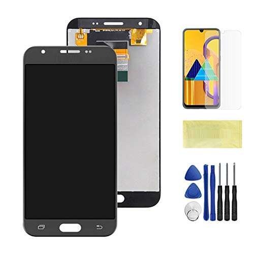 Pantallas LCD para teléfonos móviles Pantalla LCD Montaje digitalizador de Pantalla táctil/Ajuste para Samsung Galaxy J327 J3 Prime 2017 Emerge 2017 2nd J327W J327V J327T J327P (Color : Grey)