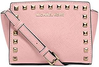 Michael Kors Selma Mini Stud Messenger Bag Blossom
