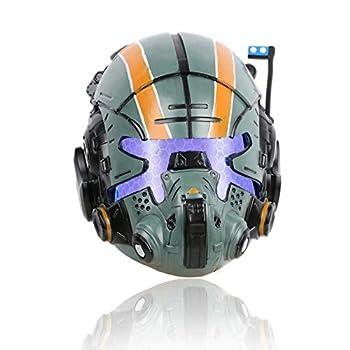 Jack Cooper Helmet Deluxe Titan 2 Resin LED Mask for Men Halloween Cosplay Collectors Edition