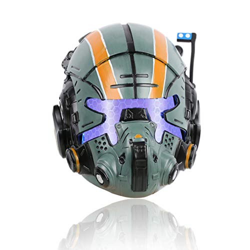 Jack Cooper Helmet Deluxe Titan 2 Resin LED Mask for Men Halloween Cosplay Collectors Edition