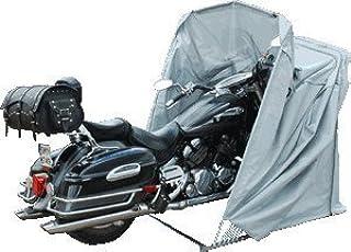Moto Garaje Plegable Garaje Motocicleta Roller Art-Land Garaje Lona de protección Tienda Gris XL