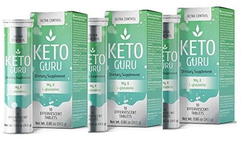 2+1 Keto Guru Pills for Men & Women | Keto Diet Tablets | Weight Loss with Keto Diet