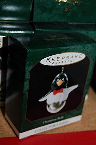 1999 Christmas Bells Miniature Hallmark Ornament