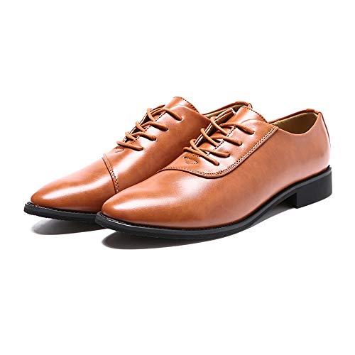 Formaat, plat, ademend en comfortabel, zakelijk Oxford casual soft lederen top klassieke mode formele schoenen Oxford Shoes voor heren