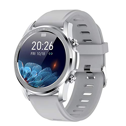Bluetooth Smart Watch Carey Rate Fitness Tracker News Push Smart Watch Youth2 Hombres Y Mujeres Pulsera Inteligente De Multi-Sport para Android iOS,A