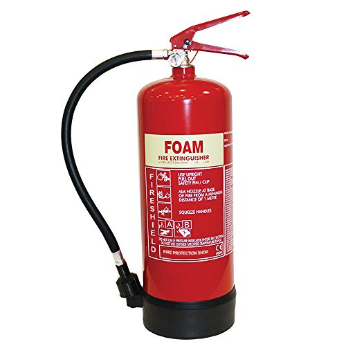 Estintore in schiuma, 6 litri –Estintore 6 litri in schiuma AFFF FireShield