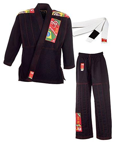 Ju-Sports BJJ-Anzug Kids schwarz