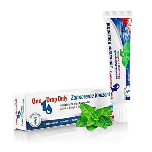 One Drop Only - Crema dental concentrada, higiene bucal para dientes, lengua y encías, juego de 3 x 25 ml