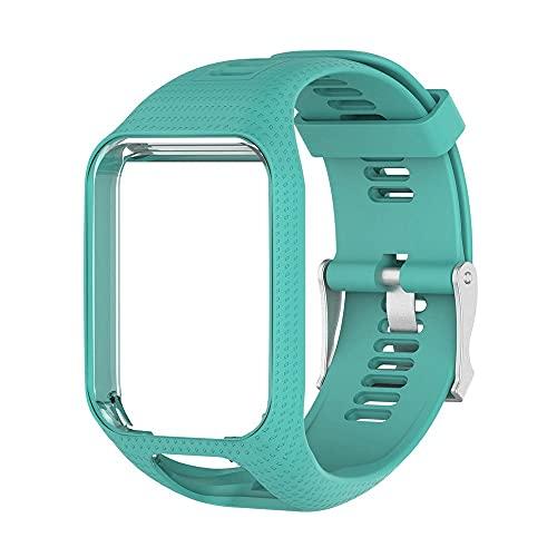 Handgelenk Band Strap Für Tomtom 2 3 Für Runner Für Funkenmusik Ersatz Armband Weiche Uhrband Silikon Gürtel Watch Armband Zubehör Drohnen Zubehör (Color : J)
