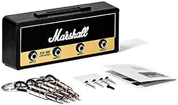 Marshall sleutel houder Jack Rack 2,0 JCM800 Guitar Keychain gitaarversterker Key Holder Hook wandmontage Homeware (Color...