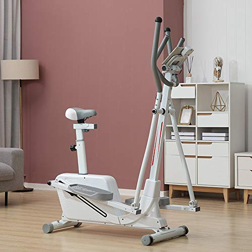 DEAR-JY 3 en 1 Vélos elliptiques de contrôle magnétique,Machine elliptique Vélo d