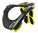Alpinestars Men's Bns Tech-2, Black Yellow Fluo, X-Small/Medium