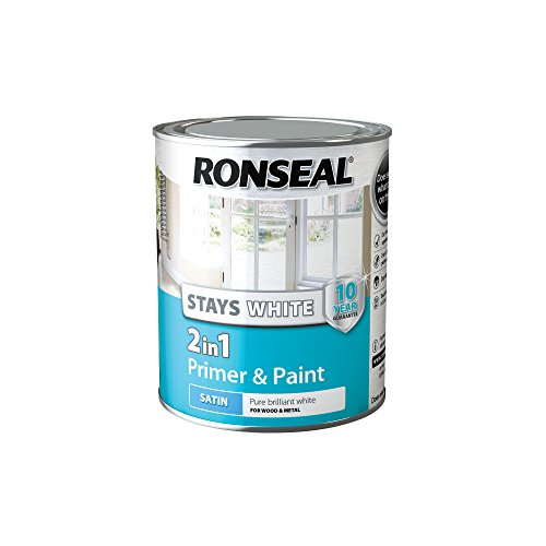 Ronseal Stays White 2 IN 1 Primer and Paint Satin