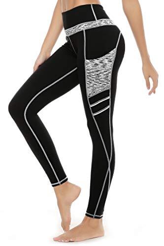 3W GRT Leggings mujer fitness,Mallas Deportivas de Mujer,Pan