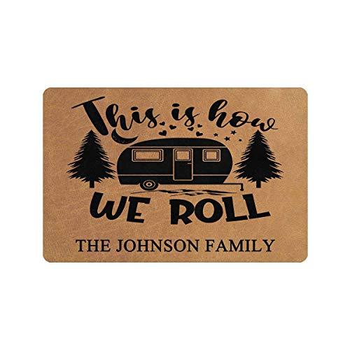 Personalized Camper Doormat