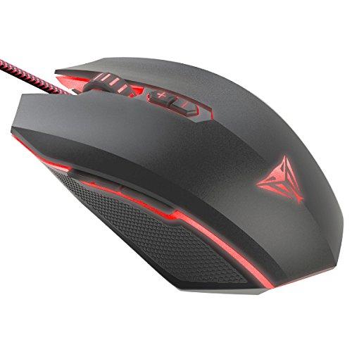 Patriot Memory Viper V530 Mouse Gaming Retroiluminazione LED Cablato con sensore Ottico 4000 DPI - PV530OULK