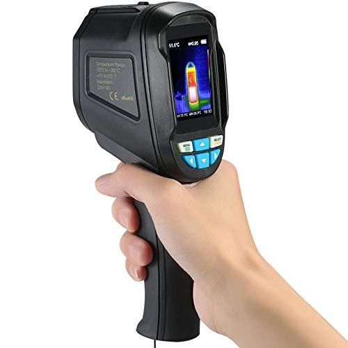 Ouqian Wärmebildkamera Infrarot-Imager Wärmebildkamera Digital-Temperatur-Tester Buit-4G Speicher Wärmebildkamera (Farbe : Black, Size : A)