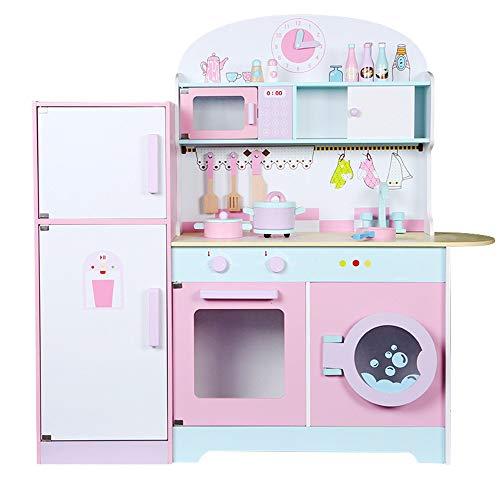 Zhengowen TO Kinder Küche Spielset Große Holz Simulation Junge Kinderspielhaus...