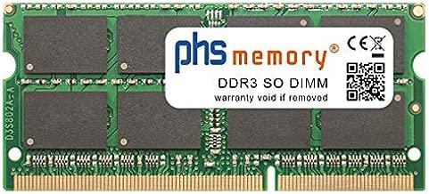 PHS-memory 8GB RAM módulo para Sony VAIO PCG-71811M DDR3 SO DIMM 1333MHz