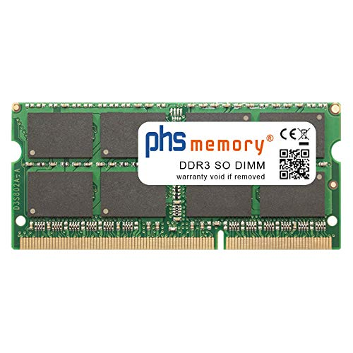 PHS-memory 16GB RAM módulo para ASUS X554LD-XX929H DDR3 SO DIMM 1600MHz