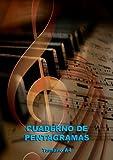 Cuaderno de Pentagramas – Tamaño A4: Portada Musical con Piano. 10 pentagramas por página - Tamaño A4, 120 páginas - Orientación vertical