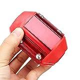 NICOLIE Economizador De Rendimiento De Camiones De Ahorro De Energía De Combustible De Gas De Aceite Magnético De Coche Rojo Universal