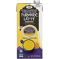 6-Pack Oregon Chai Turmeric Latte Concentrate, Turmeric Tea Latte, 32 Fl Oz