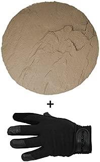 SpidaStamp & SpidaGlove   Concrete Texturing System for Stepping Stones, Landscape Edging, or Decorative Concrete. New York & Boston Stone Textures. (Empire Slate)