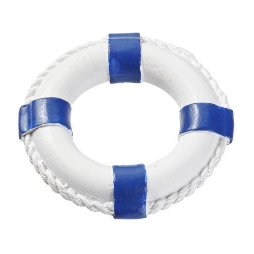 Hobbyfun Rettungsring 4,5cm, Blau/Weiß