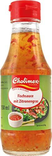 CHOLIMEX Fischsauce mit Zitronengras, 180 g, 150 ml