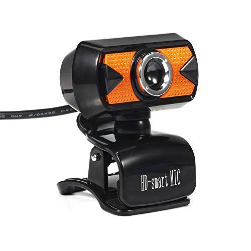FRGTHYJ USB-Computer HD-Kamera Video HD Free Drive mit Mikrofon Nachtsicht Webcam Anker Dedizierte Live-Videokonferenz Mikrofon Drehung