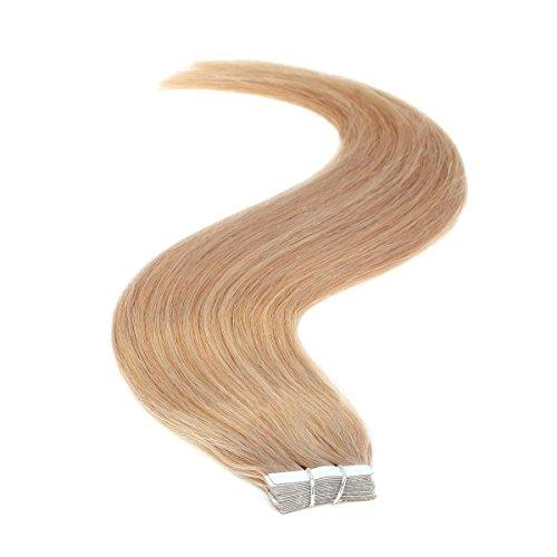 Ruban adhésif en Extensions de cheveux | 45,7 cm | 50PS | 50 g | des petites souris Marron (8)