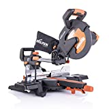 Evolution Power Tools R255SMS+ 10' Multi-Material Compound Sliding Miter Saw Plus