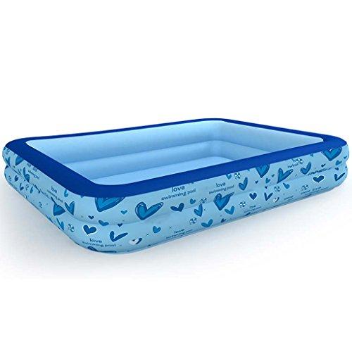Baignoire Gonflable Gxf - Grande Piscine Gonflable pour Enfant - Plastique épais - Pliable - Convient pour Salle de Bain, Chambre à Coucher, Piscine, Jardin