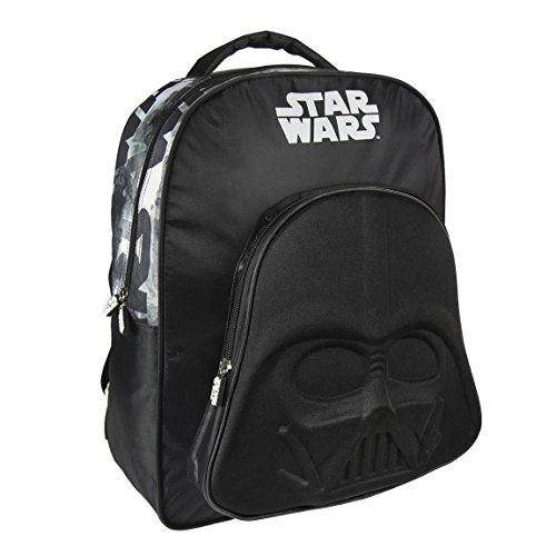 Wars 3D grand sac embossé 41cm étoiles