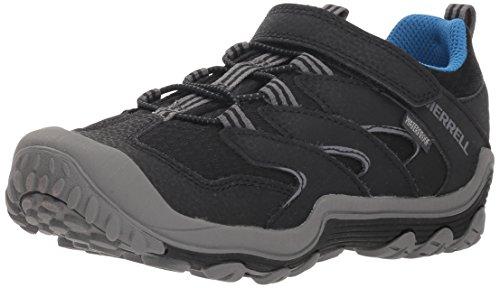 Merrell Boys' Chameleon 7 Access Low A/C WTRPF Hiking Shoe, Black, 11.5...