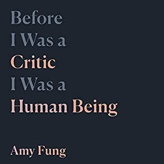 Before I Was a Critic I Was a Human Being cover art