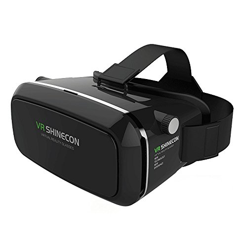 Virtual Reality Headset,3D VR Glasses,Virtual Reality Box,VR Headset for 3D Movies Video Games, Compatible with Android IOS and Other 3.5''-6.0'' Smartphones