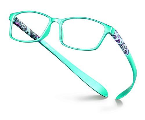 Coronation - Chic&Chic - Gafas lectura de diseño para Mujer - Graduación +3.00 Presbicia, Azul