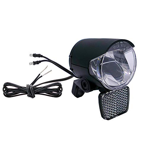 P4B | Fahrradlicht für Dynamo / Nabendynamo | 100 Lumen (ca. 40 Lux) | Fahrradbeleuchtung mit Spiegeltechnologie für eine hohe Lichtausbeute bis zu 100 Lumen