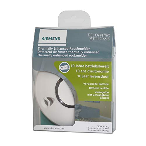 SIEMENS - 5TC1292-5 Rauchwarnmelder Delta Reflex - 10 Jahre Garantie