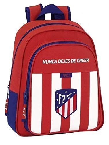 Safta Mochila Atlético De Madrid Oficial Mochila Infantil 280x100x340mm