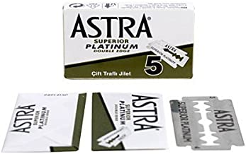 Astra Superior Platinum Double Edge Razor Blades - 20 Ct