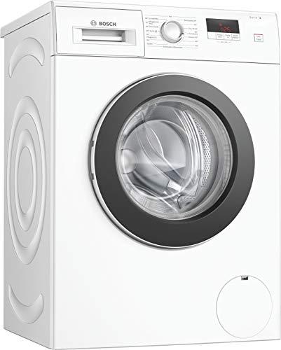 Bosch WAJ280A0 Serie 2 Waschmaschine Frontlader / A+++ / 157 kWh/Jahr / 1400 UpM / 7 kg / Weiß / Nachlegefunktion / EcoSilence Drive™