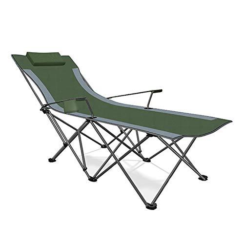 Acampar Salón Silla reclinable Plegable de Descanso en la Playa al Aire Libre sillas de Pesca Oficina de Hogares portátil Plegable de la Siesta Silla,Style 2