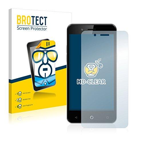 BROTECT Schutzfolie kompatibel mit Allview P6 Pro (2 Stück) klare Bildschirmschutz-Folie