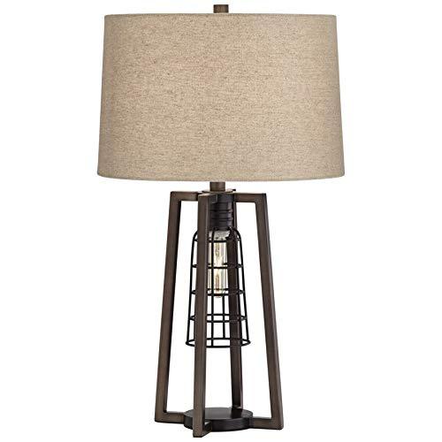 Pacific Coast Lighting 45H17 Julian Antique Nickel 1-Light 175W Table Lamp