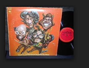 DON'T CRUSH THAT DWARF HAND ME THE PLIERS - vinyl lp. MUSIC PERFORMED BY THE FIRESIGN THEATRE, WITH THADDEUS WARRICK AND THE MINDERMAST MENTAL MUSIC HALL ONE-MAN SYMPATHY ORCHESTRA, THE ST. LOUIS AQUARIUM CHORALEERS, ANNA-LEE AUSTIN, JANE DANSIE, ETC.ETC.
